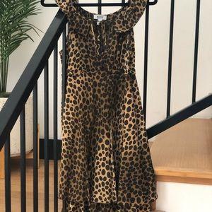 Moschino leopard summer dress